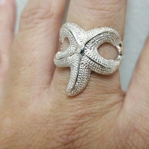 Jewelry - Sterling Silver Starfish Ring